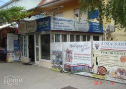(Magyar) Kiváló üzlethelység, iroda eladó Hévíz preferált központi helyén.